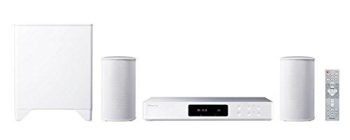 Pioneer FS-W50-W 2.1 Wireless Music System mit kabellosen Lautsprechern und Subwoofer (Multiroom, Heimkino, WLAN, Bluetooth, Streaming, Musik Apps (Tidal, Spotify und Deezer), Internetradio) Weiss
