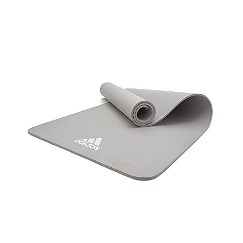 adidas, Yoga Mat-8mm-Grey Unisex-Adult, Grigio
