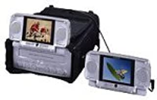 Audiovox VBP-3000 -InchVideo-In-A-Bag,-Inch with 2 5-Inch LCD Detachable Monitors and VCP Video Cassette Player