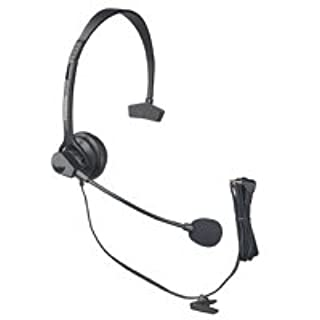 Panasonic KX-TCA60 Hands-Free Headset with Comfort Fit Headband for Use with Cordless Phones (B00007M1TZ) | Amazon price tracker / tracking, Amazon price history charts, Amazon price watches, Amazon price drop alerts