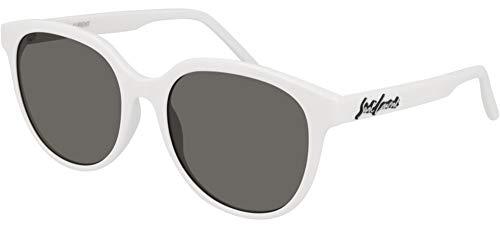 SAINT LAURENT Occhiali da Sole SL 317 WHITE/GREY 55/19/145 donna