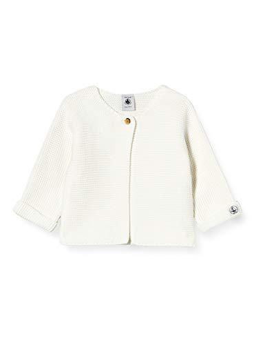 Petit Bateau Cardigan Sweater Unisex Baby Gr. 50, Marshmallow
