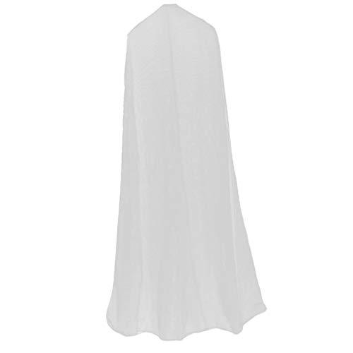 Atmungsaktives Kleidersack Kleiderhülle Kleiderschutzhülle für Abendkleid Brautkleid und Hochzeitskleid - 1,6 m