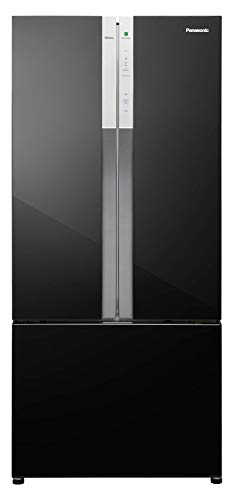 Panasonic Econavi 551 L 6-Stage Inverter Frost-Free Multi-Door Refrigerator (NR-CY550GKXZ, Black Glass, Powered by Artificial Intelligence)