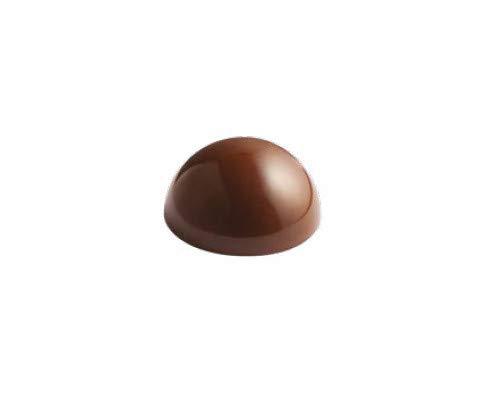 PAVONI Molde policarbonato semiesfera ø 32 mm para Bombones y Chocolate