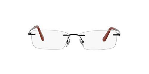 Ray-Ban 0RX6303I-51-2509 Gafas de lectura, Glänzend Schwarz, 51 para Hombre
