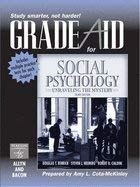 Gradeaid for Social Psychology: Unraveling the Mystery (Workbook for the 3rd edition)