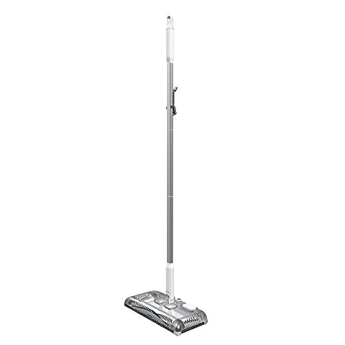 BLACK+DECKER Floor Sweeper, 50 Minutes Runtime, Powder White (HFS115J10)
