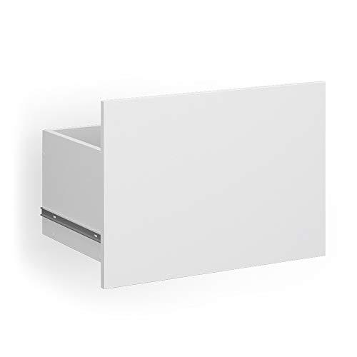 Vicco Kastsysteem Compo boekenkast archiefkast fronten laden (wit, M13 lade groot wit)