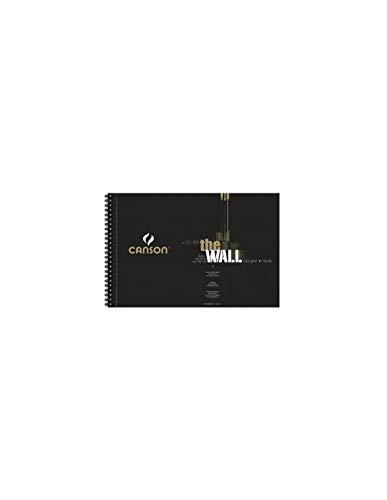 BLOCK DE DIBUJO A4 CANSON THE WALL 30 HOJAS DE 220 GRAMOS