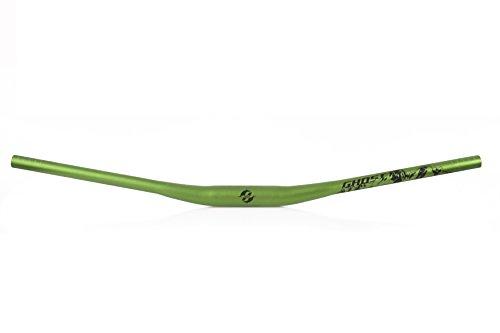 GHOST Bikes manubrio Rizer manubrio in Light HBRB 22 Rize 10 mm Back 9° Lunghezza 780 mm manubrio per bici colore nero/verde