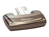 I.R.I.S. IRISCARD Mini, UK - Escáner (UK, 52 x 74 mm, Tarjeta de Visita, A8, CD-ROM, Pentium, Windows XP, ME, 2000, 98)