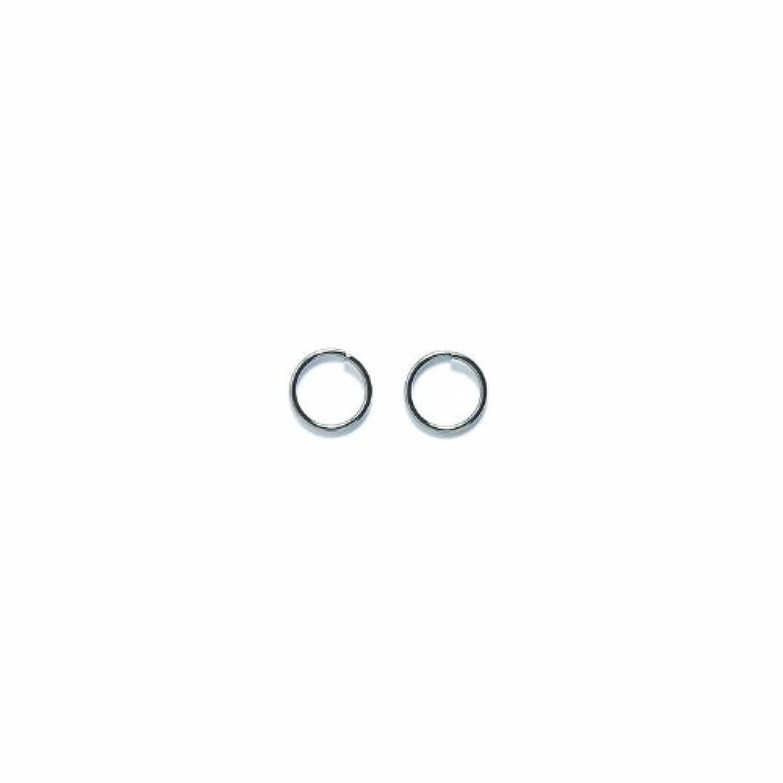 Shipwreck Beads Plated Brass Jump Ring, 7 mm, 20-Gauge, Metallic, Gunmetal, 50 gm Pack