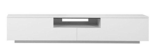 Dynamic24 XXL TV Lowboard 2m Sideboard Fernsehschrank Schrank Kommode Fernsehtisch Weiss