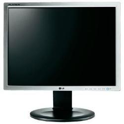 LG E1910P-SN 48,30cm 19Zoll TFT-LCD LED Backlight 1.280x1.024 5:4 5ms 250cd 5.000.000:1 DFC Silber EnergyStar5.0 analog Pivot