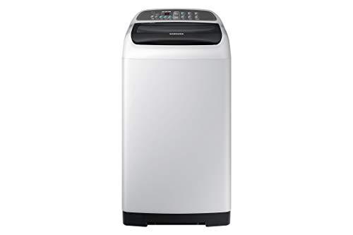 Samsung 6.5 Kg Inverter 3 star Fully-Automatic Top Loading Washing Machine (WA65M4206HV/TL, Light Grey, center jet technology)