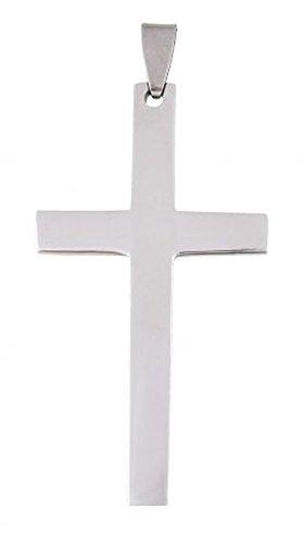"""Ten Kreuz-ANHÃ""""NGER AUS Stahl cod.EL1842 cm 5,2x2,9x0,5h by Varotto & Co."""