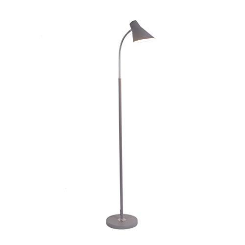 Jixi Led-vloerlamp, moderne vloerlamp met afstandsbediening, voor slaapkamer, woonkamer, studeerkamer, kantoor, lezen, verlichting