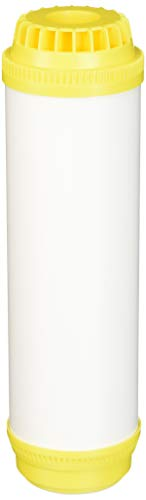 Hydronix HX-UDF-10C100E Softening Filter Cartridge with NSF Certified Cation Resin 2.5' x 10', White