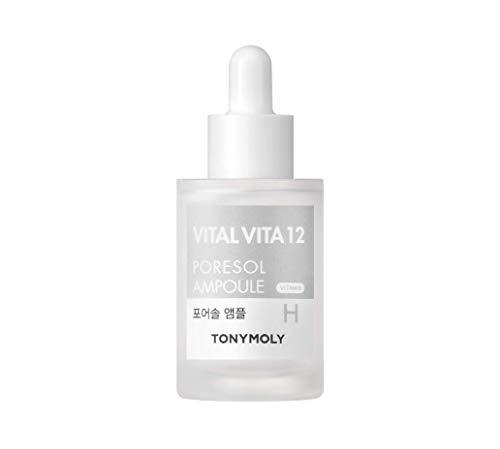 TONYMOLY Vital Vita 12 Poresol Ampoule, 1 Fl Oz