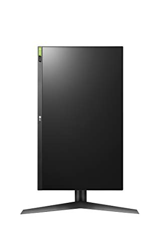LG 27GL650F-B 27 Inch Full HD Ultragear G-Sync Compatible Gaming Monitor with 144Hz Refresh Rate and HDR 10 – Black