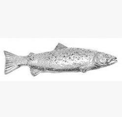 Brown Trout Fish Geschenkbox, Zinn, für Schals/Krawatten/Mäntel/Taschen