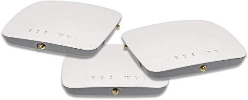 Netgear WAC730B03-10000S - Pack de 3 Puntos de Acceso WAC730 ProSAFE Profesional (3 x 3 Wireless-AC1750 y garantía Durante su Vida útil), Color Blanco