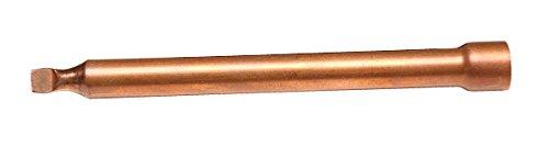 ETHERMA Zubehör zur elektrischen Fußbodenheizung, Fühlerschutzrohr aus Kupfer für Installationsschlauch SS-12, FSH-12, 12 mm Durchmesser, Kupferhülse