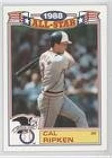 Cal Ripken Jr. (Baseball Card) 1989 Topps - Rack Pack Glossy All-Stars #5