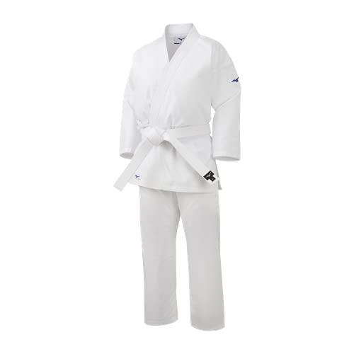 Mizuno karategi Kiai Blanco con Cinturon (160)