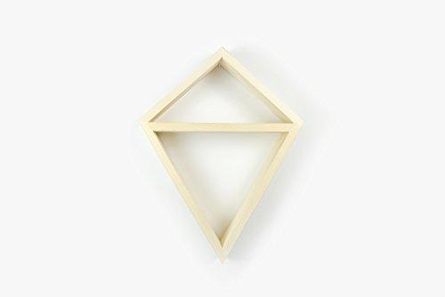 Odin Barcelona Crassula Estantería de Madera geométrica Estilo nórdico