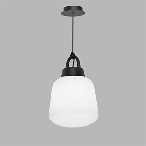 Flush Mount Ceiling Lighting, Acrylic Lampshade Globe Tak Ljus Matte Black Finish för matsal och vardagsrum AC110V - 240V [Energy Class A ++] (Color : 3000K)