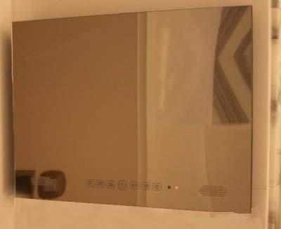 Gowe TV Spiegel, Android 4.2, wasserdicht, 48,3 cm (19 Zoll), mit WLAN und Bluetooth, Panelfarbe: Schwarz