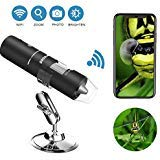 Wifi Digital Microscope, Goodan Wireless Microscope, Portable 50 to...