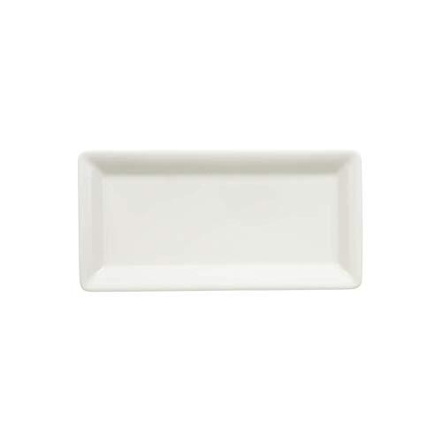 Villeroy & Boch Pi Carré Fuente, 24x12 cm, Porcelana Premium, Blanco