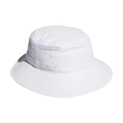 adidas Core Men s Victory III Bucket Hat Chapeau, bob, Blanc, S-M Homme