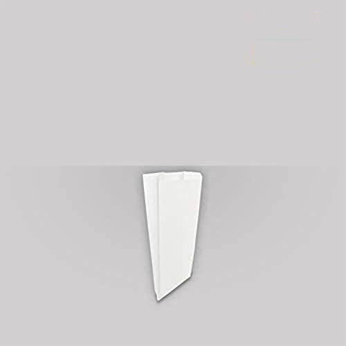 Palucart 1000 Sacchetti di Carta per Alimenti Sacchetto di Carta Bianco per Caramelle 12x26 Buste di Carta per Alimenti