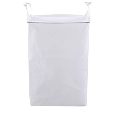 Weryffe - Cesto para la ropa sucia colgante, para guardar calcetines, bolsa de almacenamiento sobre la puerta, portátil