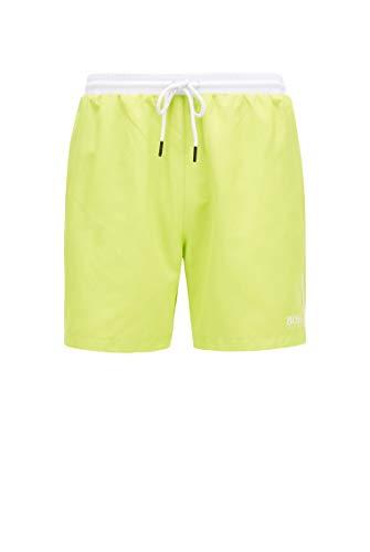 BOSS Herren Starfish-50408104 Shorts, Bright Yellow737, XL EU