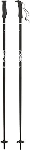 Atomic AMT Ski Poles Sz 125cm (50in) Black