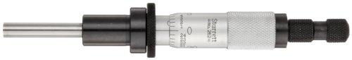 Starrett 262RL - Cabezal de micrometro, sin giro, rango de 0-1, graduación de 0,001, precisión de +/-0,0001, taladro de freno, tuerca de bloqueo