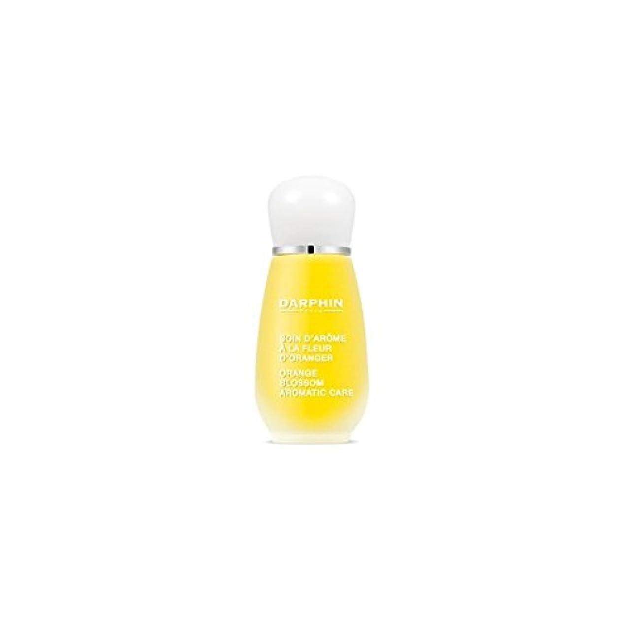 靄クレデンシャル好戦的なダルファンオレンジの花の芳香ケア(15ミリリットル) x4 - Darphin Orange Blossom Aromatic Care (15ml) (Pack of 4) [並行輸入品]