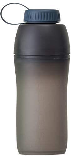 Platypus Meta Trinkflasche mit Mikrofilter, 1 Liter, schiefergrau