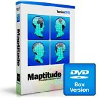 Maptitude 2019 DVD Mapping Software