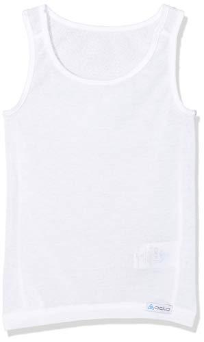 Odlo Kinder Singlet Crew Neck Light Kids Shirt, White, 80
