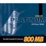 BestMedia CD-R 800MB Platinum CD-Rohlinge 90 Minuten 52x speed Jewelcase