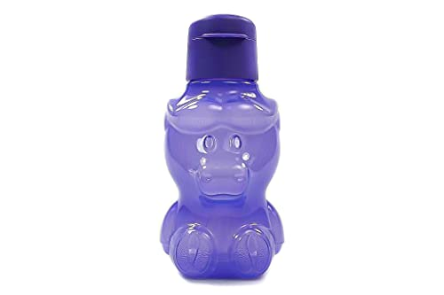 Tupperware Büffel EcoEasy C170 Eco - Botella ecológica para niños (350 ml), color morado