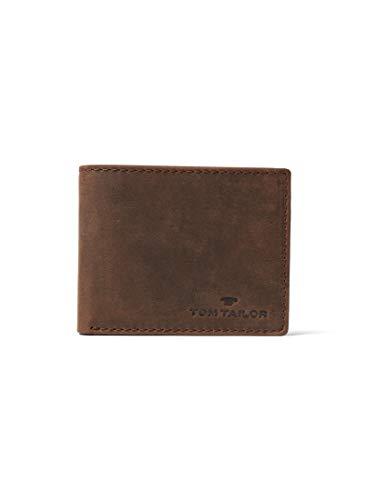 TOM TAILOR Herren Taschen & Geldbörsen Portemonnaie Ron braun/Brown,OneSize
