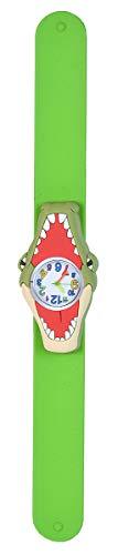 Wild Republic Slap Bracelets, Cocodrilo, Relojes con Cierre Automático, Reloj de Juguete, Educativos, Regalos de Cumpleaños para Niña, Reloj de Animales, Reloj de Colores, Reloj de Pulsera Infantil