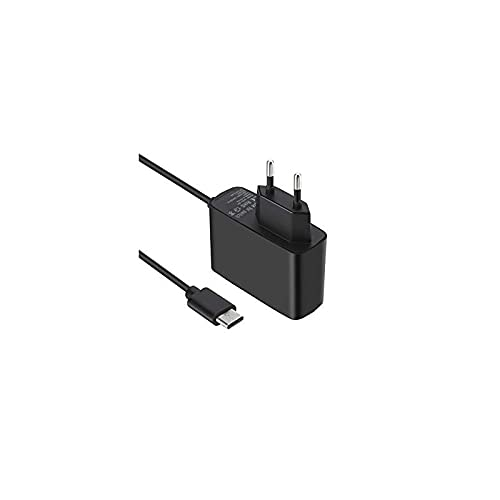 Cargador para Nintendo Switch/Switch Lite/Switch OLED Adaptador de coriente Type-C de Carga Rápida con Suministro de 15V 2.6A y Cable de 1,5 m Compatible en Modo de TV y Control Dock & Pro